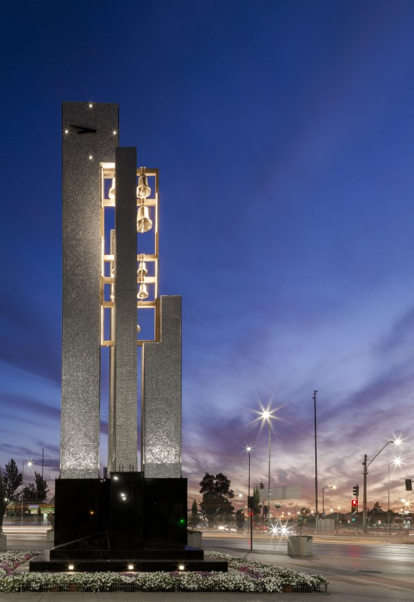 Carillon Parroquia San Vicente de Paul, Bell Tower (500 M2), Chile – Jaime Edis Scalpello Architect, Municiplaidad La Florida Chile